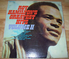 "NEW Roy Hamilton Greatest Hits Volume II RECORD IS SEALED 12"" EPIC Lp MINT SS"