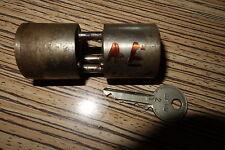 Rundzylinder BKS ohne Nase  .  mit Patina - 1 Schlüssel (AEHW)