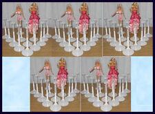 50 White Kaiser Doll Stands for Barbie & Monster High