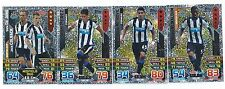 2015 / 2016 EPL Match Attax NEWCASTLE Inserts Man of the Match x 3 Duo x 1
