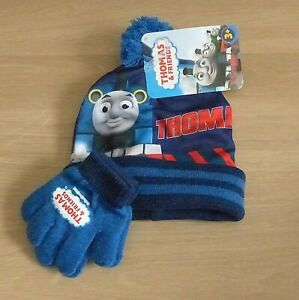 boys Thomas & friends hat and glove set age 3+