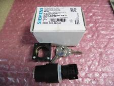 Siemens 3SB3000-5BD01, Schlüsselschalter, unbenutzt