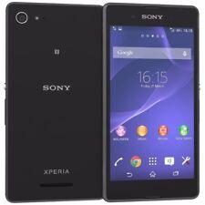 """SONY Xperia E3 BLACK D2203 *UNLOCKED* Quad Core 4.5"""" inch HD Smartphone Grade B"""