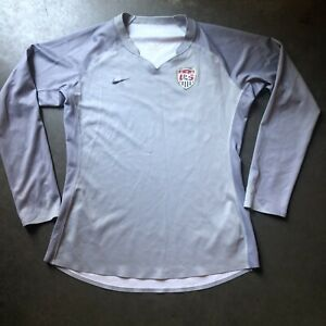 Women's Nike Fit-Dry Team USA USWNT World Cup Olympic Goalie Keeper Jersey Sz XL