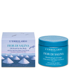 L'erbolario Fior Di Salina Oil Scrub For The Body Aromatic& Aquatic Scents 500g