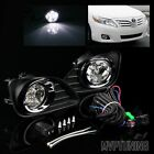 For 2010-2011 Toyota Camry LED Fog Lights Bumper Driving Lamps + Switch/Bezel