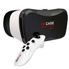 VIRTUAL REALITY VR HEADSET WITH 3D GLASSES HEADPHONES AND GAMES CONTROLLER