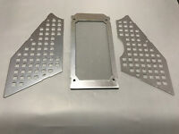 Aluminum Front Rear windshild window for HPI Rovan KM Baja 5B SS Buggy Silv!!!