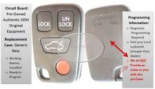 Volvo alarm keyless remote entry S40 V40 C70 S70 V70 XC transmitter controller