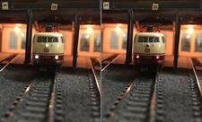 12 Stück - DUO LEDs SMD 0605 Warmweiß/rot für Modellbahnloks H0, TT, N