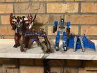 Transformers FODDER LOT 1997 Beast Wars tripredacus Star Scream Thundercracker