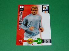 BECKHAM ENGLAND  PANINI FOOTBALL FIFA WORLD CUP 2010 CARD ADRENALYN XL