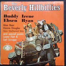 Buddy Ebsen BEVERLY HILLBILLIES soundtrack LP bluegrass Earl Scruggs Irene Ryan