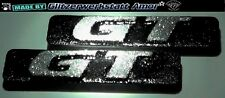 2x Auto KFZ Schriftzüge Typ-Modell-bezeichnungen* Unikate by Amor* Crazy Glitter