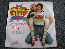 Cathy & Lally Stott-Sing Sing Sing 7 PS-1976 Germany-Pop-Rock-45 U/min-Lovebirds