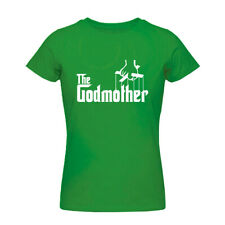 The Godmother Mothers Day Womens Boyfriend Fit T Shirt all color tees
