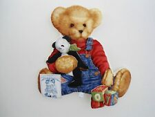 Daisy Kingdom, Blue Jean Teddy Toys, Wall Hanging, Daisy Kingdom Wall Hanging