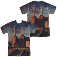 Authentic Pink Floyd Animals Album Record Sublimation ALL Front Back T-shirt top
