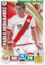 268 PABLO HERNANDEZ CHILE RAYO VALLECANO LEEDS CARD ADRENALYN LIGA 2016 PANINI