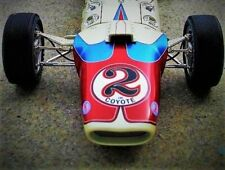 1966 ford lotus VINTAGE RACE SPORT COCHE 43 GP 24 F Indy 500 1 18 modelo 40 12