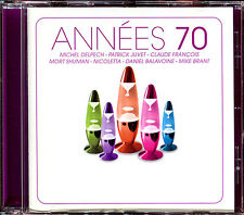 ANNEES 70 - 17 TITRES - CD COMPILATION [1457]