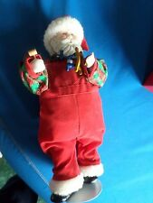Brinns Christmas Santa Claus Porcelain Christmas Doll Looking for December