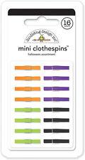 Doodlebug Design Ghouls & Goodies Halloween Mini Clothespins 4435