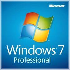 Microsoft Windows 7 Professional 32 Bit SP1 System Buildres NEW !