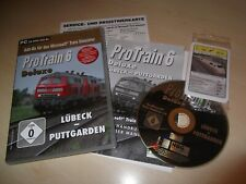 PROTRAIN 6 DELUXE LUBECK - PUTTGARDEN ~ MICROSOFT TRAIN SIMULATOR ADD-ON