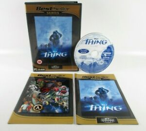 The Thing PC CD-ROM Complete With Manual