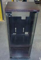 Pioneer 03771 Glass Door Component Stereo Cabinet SEE NOTES