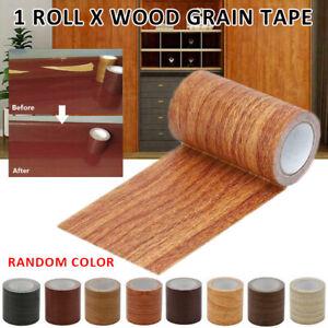 1 Roll Wood Grain Repair Adhesive Duct Tape Waterproof for Furniture Decor US