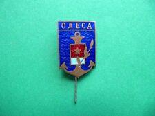 USSR, Soviet Ukraine, Coat of Arms of Odessa City, Bras Pin badge