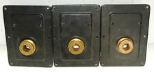 3 Pieces Western Electric 551 Drivers From 3A Horn - Same Threads as 555 Drivers