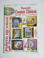 RPC REVISTA PUNTO DE CRUZ ESPECIAL CUENTOS CLASICOS PEQUEPUNTO 2002
