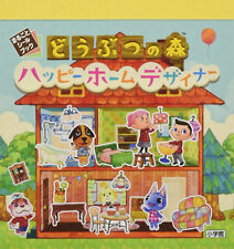 Free Shipping Nintendo Japan Animal Crossing  Happy Home Designer Sticker Book