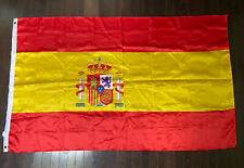 New listing G128 Spain (Spanish) Flag 75D Printed Polyester 3x5 Ft (63x 36 1/2 in)