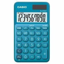Casio SL310UC Blue My Style 10 Digit Tax Large Display Handheld Calculator New