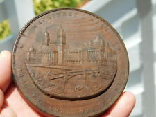 1893 Columbian Exposition Administration Building Jackson Park Wood Medal coin