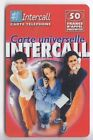 FRANCE TELECARTE / PHONECARD PREPAYEE .. 50F INTERCALL 3 FILLES V°1 12/02+N°