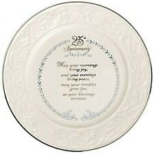 Belleek 25th Anniversary Plate (3383)