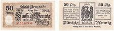 Arnstadt 50 Pf. 01.03.1917 Grabowski A24.1b Erh. II