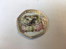 Beatrix Potter 50p Mrs Tiggy Winkle couleur