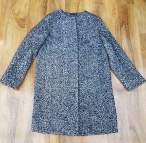 BODEN Imelda Womens Coat WE554 dark grey colour UK Size 10R. RRP £198 BRAND NEW
