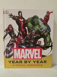 Marvel Year By Year A Visual Chronicle HC - Marvel DK Stan Lee