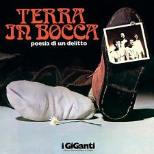 GIGANTI - TERRA IN BOCCA - LP REISSUE DELUXE CLEAR RED VINYL 2015 NEW SEALED