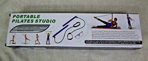 NEW Exercise Resistance Band Yoga Pilates Bar Kit Portable Pilates Stick Muscle