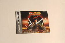 Nintendo Gameboy Advance -Lego Star Wars The Video  -  Manual