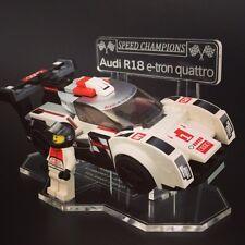 ESPOSITORE per LEGO Speed Champions: AUDI R18 e-tron Quattro (75872)