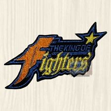 King of Fighters Logo Embroidered Patch Videogame Console NEO GEO Fatal Fury